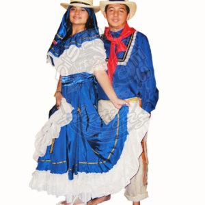Antifaz Disfraces Bogota Bambuco Pareja - Region Andina