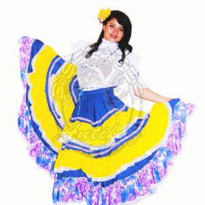 Antifaz Disfraces Bogota Bamuco fiestero Mujer - Region Andina