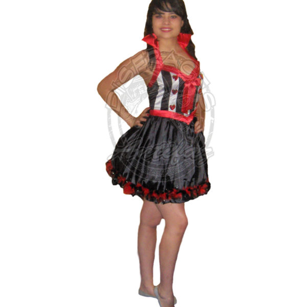 Reina de Corazones Antifaz Disfraces Bogota