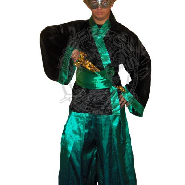 Disfraz de samurai Antifaz Disfraces Bogota