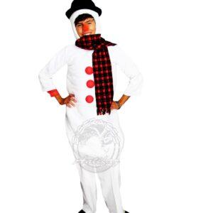Antifaz Disfraces Bogota Hombre de Nieve